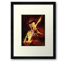 Portrait: Guitar Shorty Framed Print