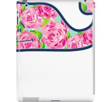 Whale with Roses iPad Case/Skin