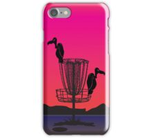 Disc Golf Birdie iPhone Case/Skin