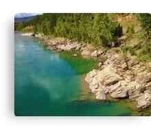 Glacier Lake Canvas Print