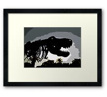 Museum escapee Framed Print