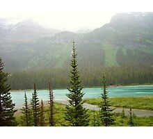 Glacier Lake Photographic Print