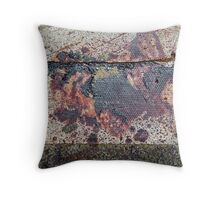 just another modern day, cave painting Throw Pillow