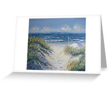 Dune Grass Greeting Card