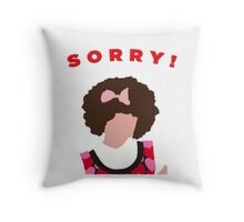 Sorry! Gilly Throw Pillow