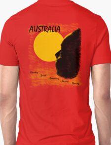 Aussie Dreaming - Red T-Shirt