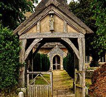 Gated way to prayer by Karen  Betts