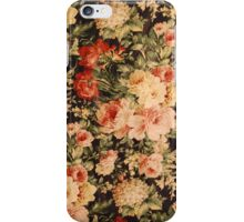 White and pink flowers iPhone Case/Skin