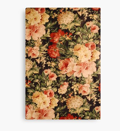 White and pink flowers Canvas Print