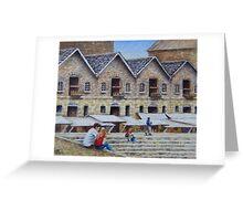 Lunch Break- Harbourside Greeting Card