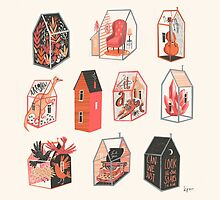 Little Boxes by Karl James Mountford