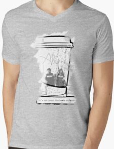 It's Not About The Books Anymore Mens V-Neck T-Shirt