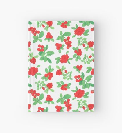Lingonberry Hardcover Journal