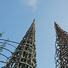 Towers of Los Angeles by Joseph  Tillman