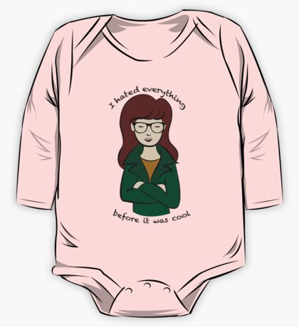 Daria, the Original Hipster One Piece - Long Sleeve