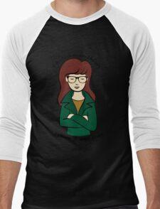 Daria, the Original Hipster Men's Baseball ¾ T-Shirt