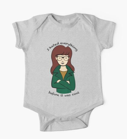 Daria, the Original Hipster One Piece - Short Sleeve