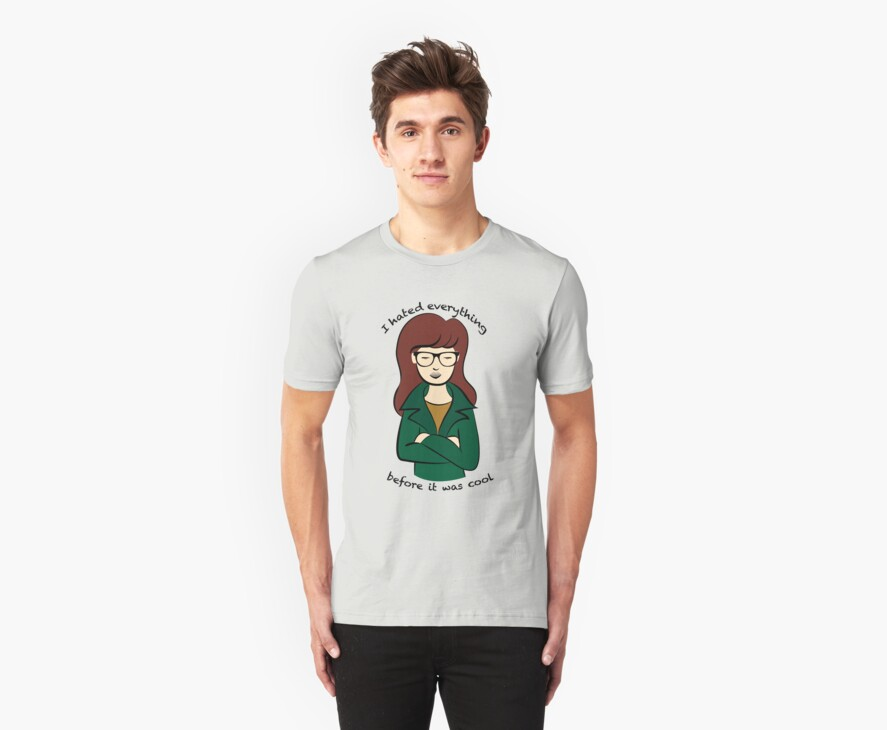 Daria, the Original Hipster by painted-lizard