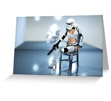 Sexy Stormtrooper Greeting Card