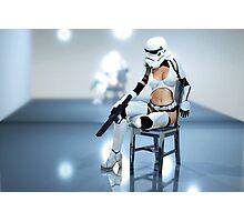 Sexy Stormtrooper Photographic Print