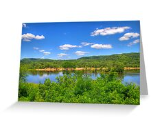 Wisconsin River  Greeting Card