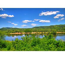 Wisconsin River  Photographic Print