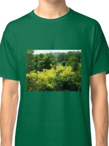 Bushes with Yellow Leaves - Hyde Hall Classic T-Shirt