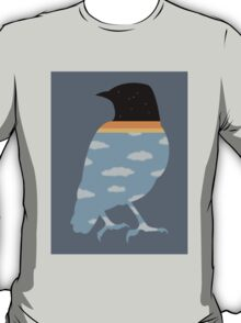 Bird with clouds T-Shirt