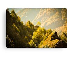 Himalayan House Canvas Print