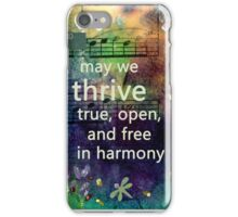 Thrive Prayer from Loving Rd iPhone Case/Skin