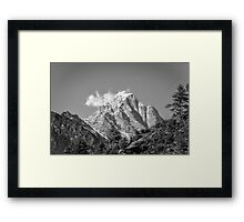 Nepal- The Might Himalayas Framed Print