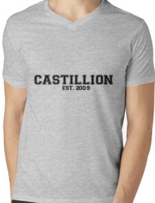 Castillion Mens V-Neck T-Shirt
