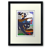 Dlevira is queen of the world Framed Print