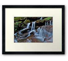 Touch the water.... Framed Print