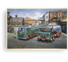 Albion Sugar Fodens Canvas Print