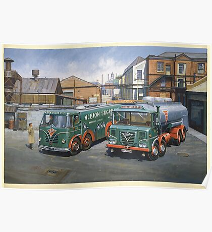 Albion Sugar Fodens Poster