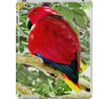 Chatty Red iPad Case/Skin