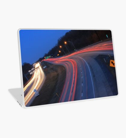 Night Trails Laptop Skin