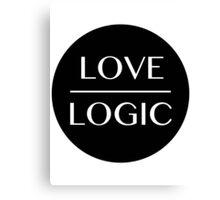 Love Over Logic Canvas Print