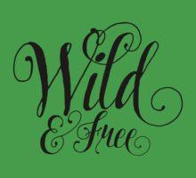 Wild & Free Kids Tee