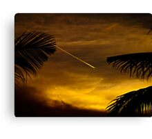 Vapour Trail. Canvas Print