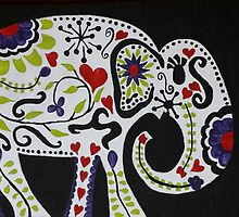 Carefree Elephant by Melanie Whitfield