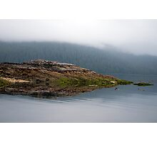 Island In The Mist Photographic Print