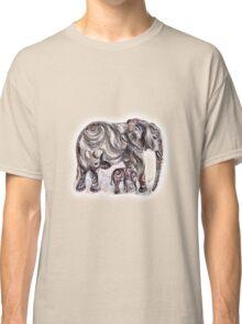 Mother Elephant  Classic T-Shirt