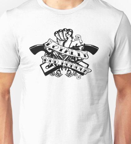 loyalty and honour casette remix Unisex T-Shirt
