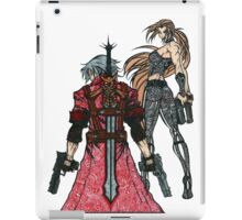 Devil May Cry Doodle #2  iPad Case/Skin