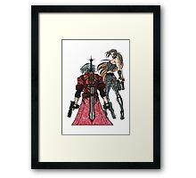 Devil May Cry Doodle #2  Framed Print