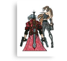 Devil May Cry Doodle #2  Canvas Print
