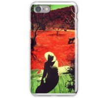 Musing in Red iPhone Case/Skin