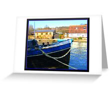 Henley in oils Greeting Card